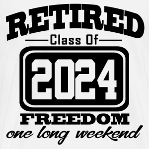 retired 2024 121212121.png T-Shirts - Men's Premium T-Shirt