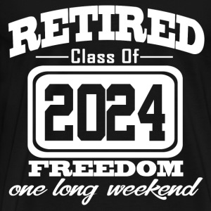 retired 2024 12121212.png T-Shirts - Men's Premium T-Shirt