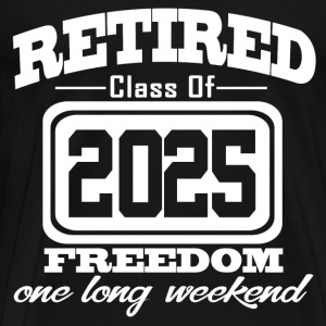retired 2025 343433434.png T-Shirts - Men's Premium T-Shirt