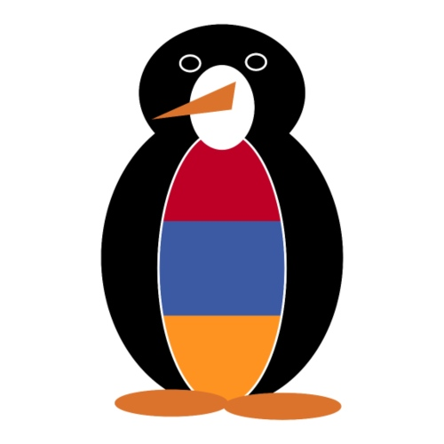 Armenian Flag Mr. Penguin