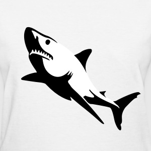 Great White Shark T-Shirts - Women's T-Shirt