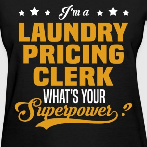 Laundry Pricing Clerk - Women's T-Shirt