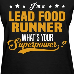 Lead Food Runner - Women's T-Shirt
