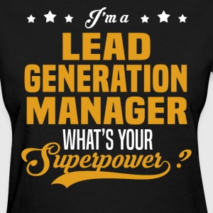 Lead Generation Manager - Women's T-Shirt