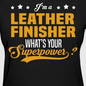 Leather Finisher - Women's T-Shirt