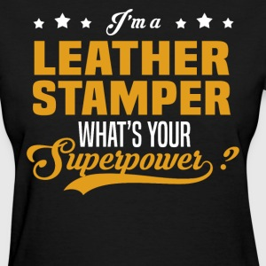 Leather Stamper - Women's T-Shirt