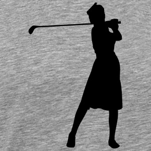 Golf retro T-Shirts - Men's Premium T-Shirt