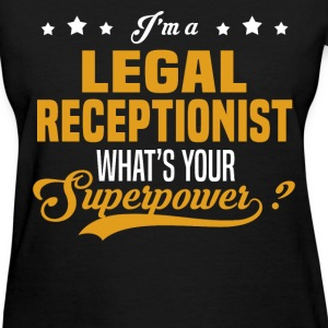 Legal Receptionist - Women's T-Shirt