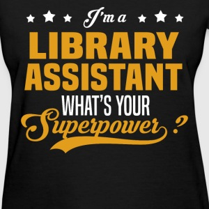Library Assistant - Women's T-Shirt
