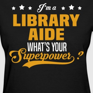 Library Aide - Women's T-Shirt