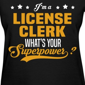 License Clerk - Women's T-Shirt
