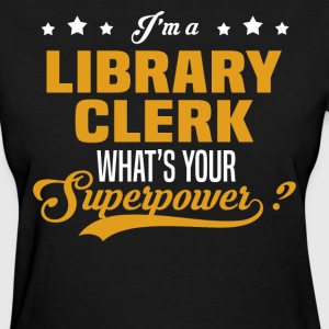 Library Clerk - Women's T-Shirt