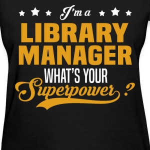 Library Manager - Women's T-Shirt