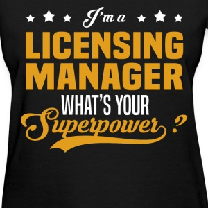 Licensing Manager - Women's T-Shirt