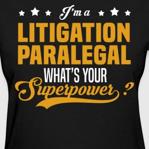 Litigation Paralegal - Women's T-Shirt