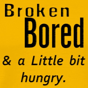 Broken bored - by Fanitsa Petrou - Men's Premium T-Shirt