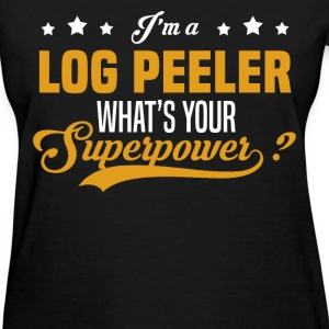 Log Peeler - Women's T-Shirt