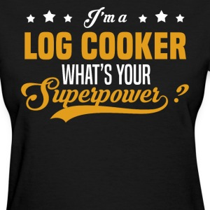 Log Cooker - Women's T-Shirt