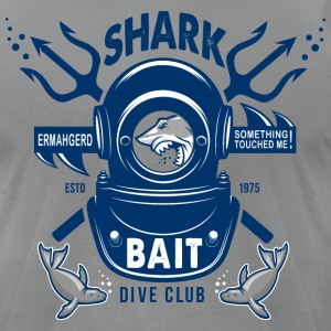 Shark Bait Dive Club - Men's T-Shirt by American Apparel