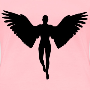 Angel Silhouette - Women's Premium T-Shirt