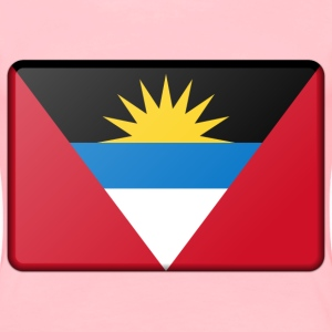 Antigua and Barbuda flag (bevelled) - Women's Premium T-Shirt