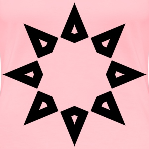 8 Pointed Star - Women's Premium T-Shirt