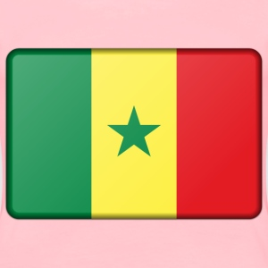 Senegal flag (bevelled) - Women's Premium T-Shirt