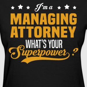 Managing Attorney - Women's T-Shirt