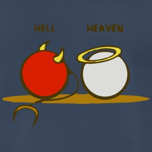 Heaven and Hell - Men's Premium T-Shirt
