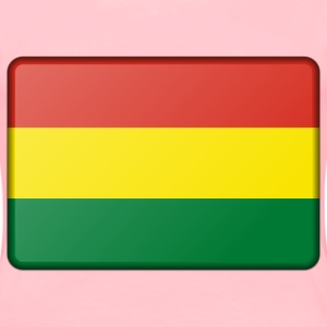 Flag of Bolivia (bevelled) - Women's Premium T-Shirt