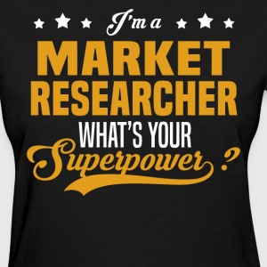 Market Researcher - Women's T-Shirt
