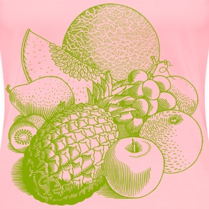 Fruits 02 - Women's Premium T-Shirt