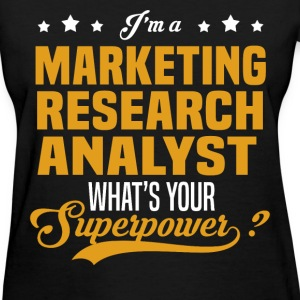 Marketing Research Analyst - Women's T-Shirt