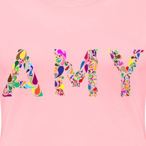 Amy Typography - Women's Premium T-Shirt