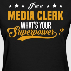 Media Clerk - Women's T-Shirt