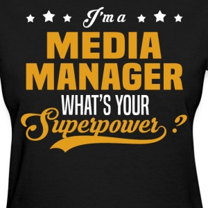 Media Manager - Women's T-Shirt