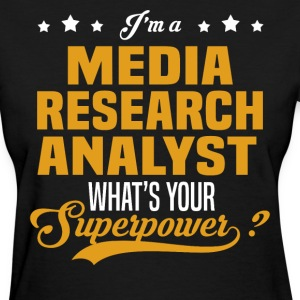Media Research Analyst - Women's T-Shirt