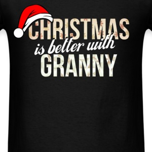 Granny - Christmas is better with Granny - Men's T-Shirt