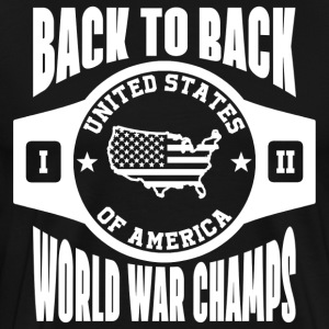 USA Back To Back Champs T-Shirts - Men's Premium T-Shirt