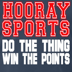 Hooray Sports T-Shirts - Men's Premium T-Shirt