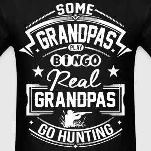 Real Grandpas Go Hunting T-Shirts - Men's T-Shirt