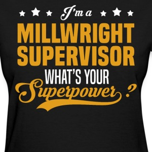 Millwright Supervisor - Women's T-Shirt