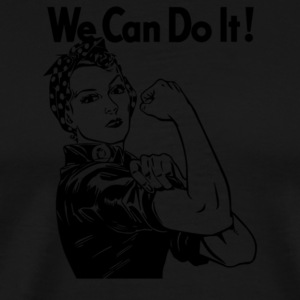 We can do it Rosie the Riveter - Men's Premium T-Shirt