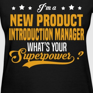 New Product Introduction Manager - Women's T-Shirt