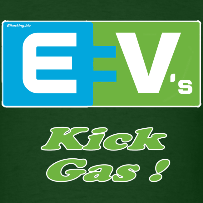Men's Standard T- EV2 kicks Front