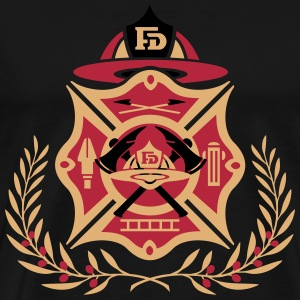 fire dept laurel logo T-Shirts - Men's Premium T-Shirt