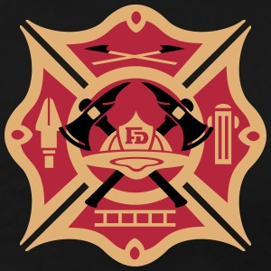 fire dept logo T-Shirts - Men's Premium T-Shirt
