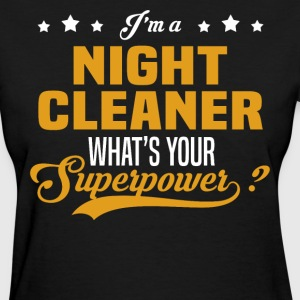 Night Cleaner - Women's T-Shirt