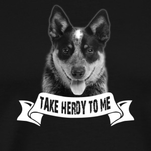 Australian Cattle Dog Tshirt - Men's Premium T-Shirt