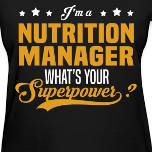 Nutrition Manager - Women's T-Shirt